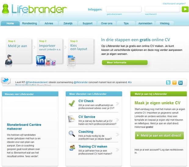 Lifebrander | Homepage