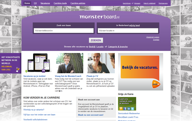 Monsterboard | Homepage