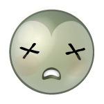 Emoticon dood