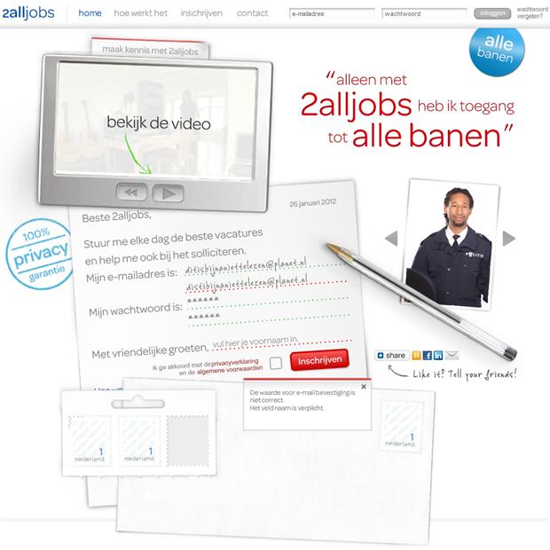 2alljobs   Homepage, 2