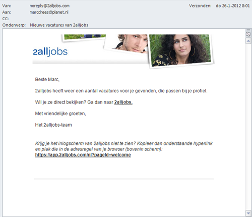 2alljobs | e-mail