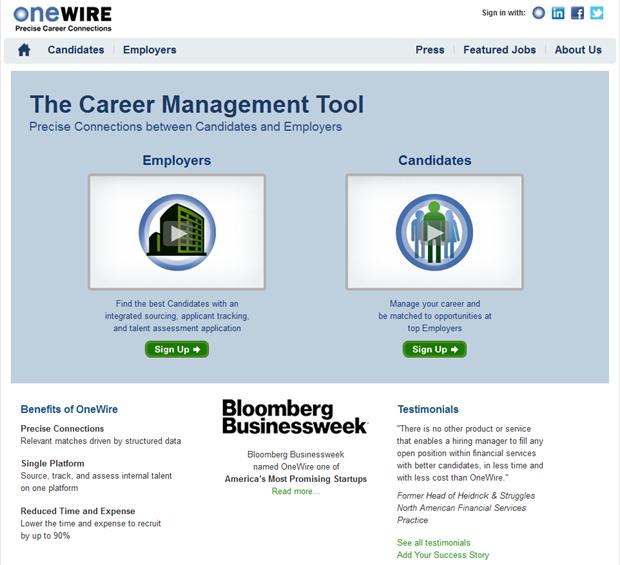 OneWire | Homepage