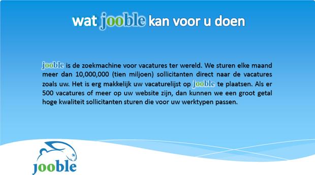 Jooble | Brochure