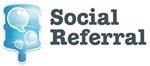 Logo en logotype SocialReferral