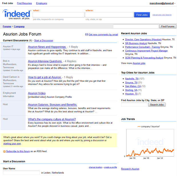 Indeed | Best Places to Work | Forum, 2