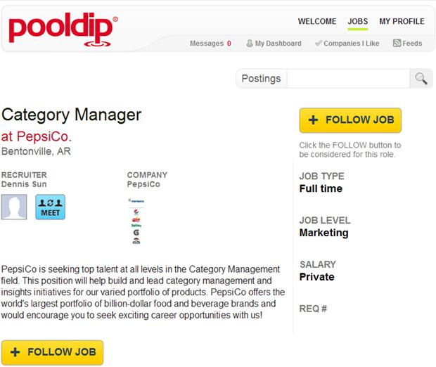 Pooldip | Job ad