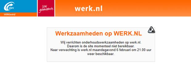 Werkzaamheden op Werk.nl