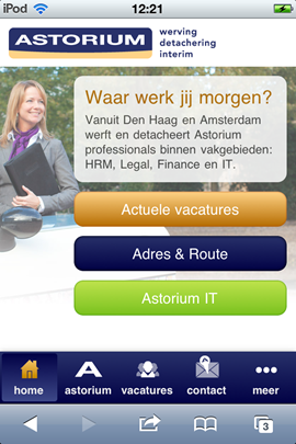 Astorium: mobiele site zonder Apply with LinkedIn ... | 270 x 405 png 135kB