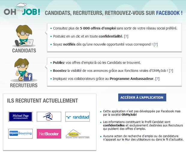 Oh my Job! | Facebook homepage