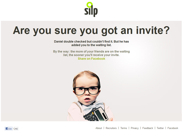 Silp | Holding page