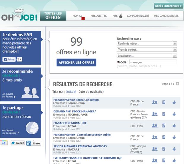 Oh my Job! |  Zoekresultaat