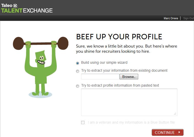 Talent Exchange | Beef up your profile