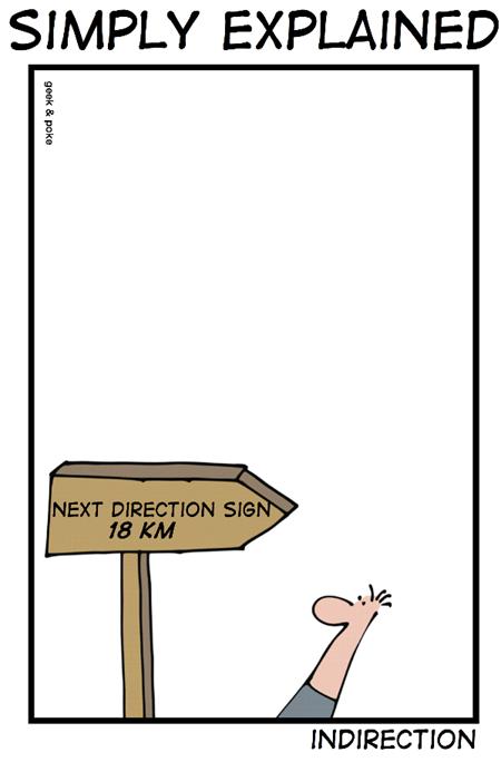 Geek & Poke: Indirection