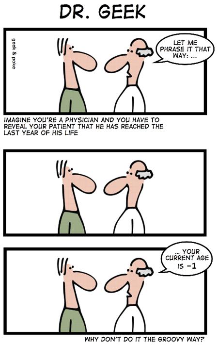 Geek & Poke: Dr. Geek