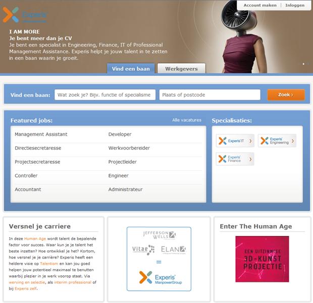 Experis | Homepage