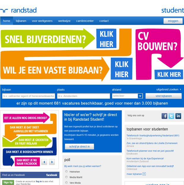 Randstadstudent | Homepage