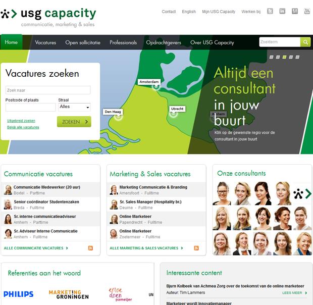 USG Capacity | Homepage