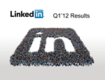 imageLinkedIn Q1 2012 results