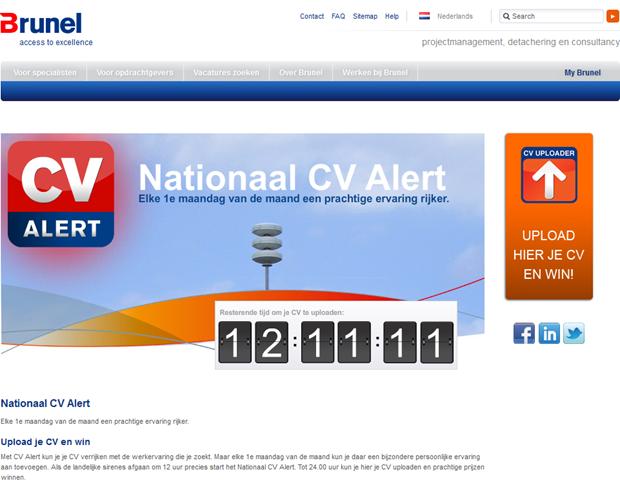 Brunel | Nationaal CV Alert