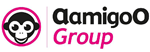 Logo en logotype AamigoO Group