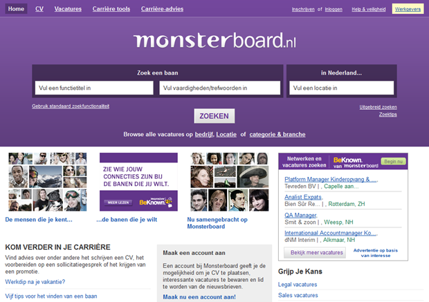 Monsterboard | Homepage