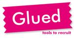 Logotype Glued