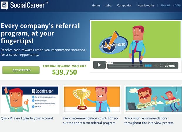 SocialCareer   Homepage