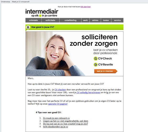 E-mail Intermediair
