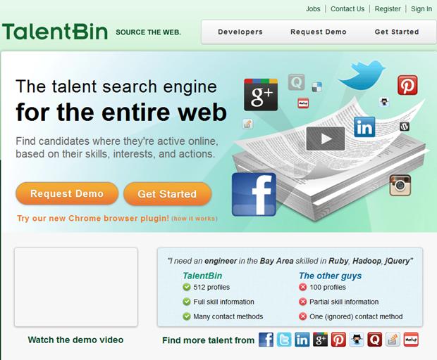 TalentBin | Homepage
