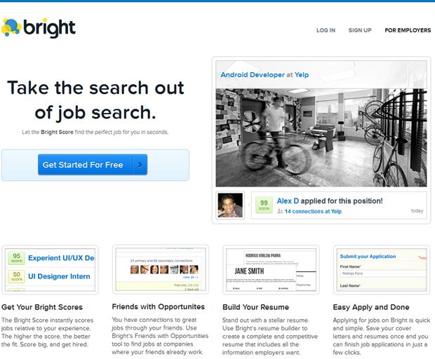 bright | homepage