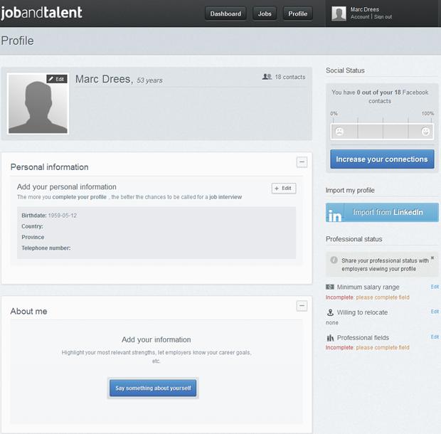 Jobandtalent | Profile