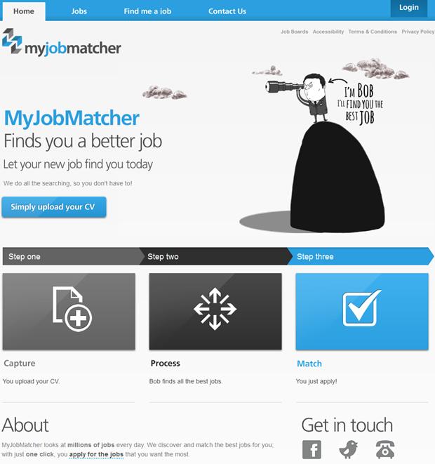 MyJobMatcher   Homepage