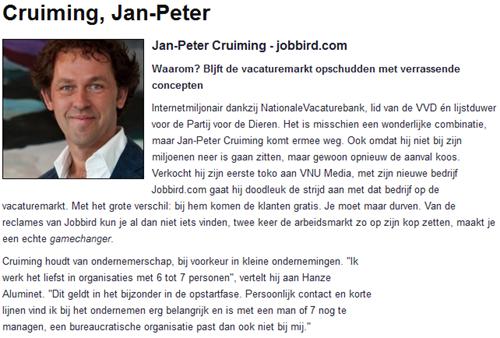 Management Team   gamechanger, Jan-Peter Cruiming