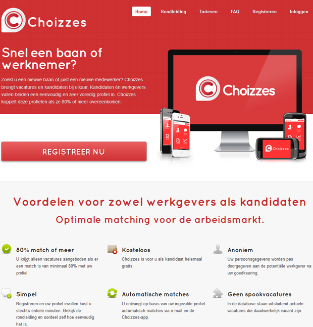 Choizzes | Homepage