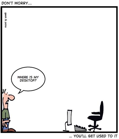 Geek & Poke: Windows 8