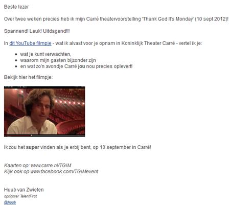 E-mail Huub van Zwieten
