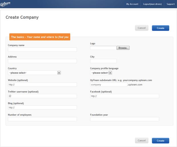 UpTeam | Create Company, 1