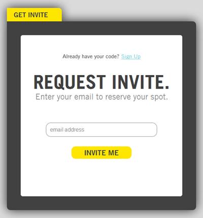Vizify | Sign up, 2