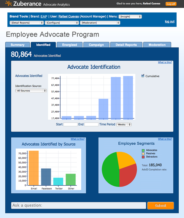 Employee Advocate Program