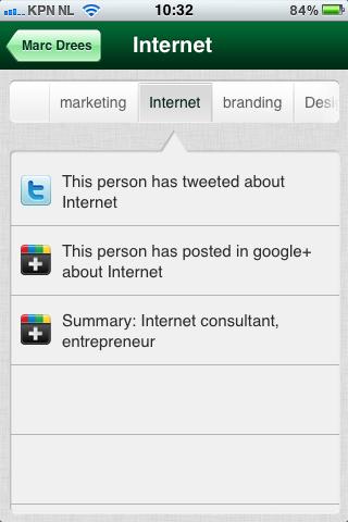 TalentBin Lookup   Interests, Internet