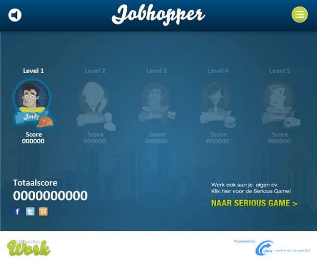 Expeditie Work | Jobhopper game, 1