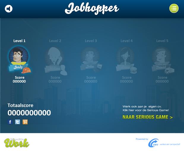 Expeditie Work | Jobhopper game, 1