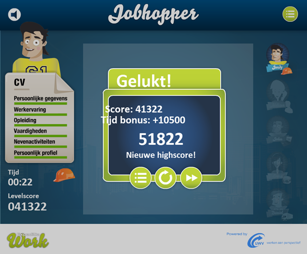 Expeditie Work | Jobhopper game, 6
