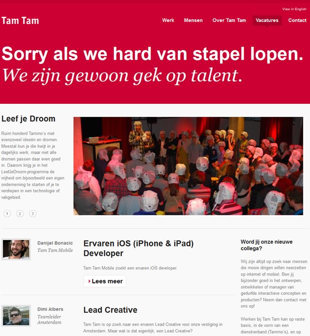 Tam Tam | Homepage