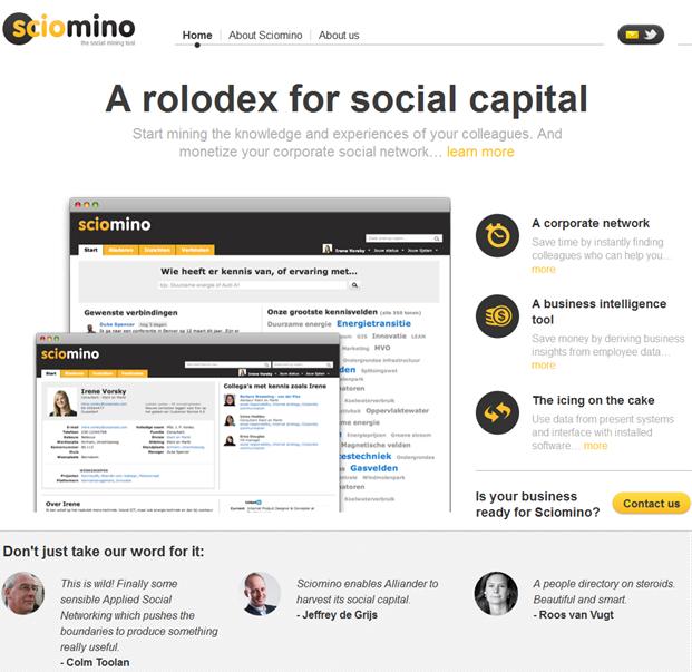 Sciomino | Homepage