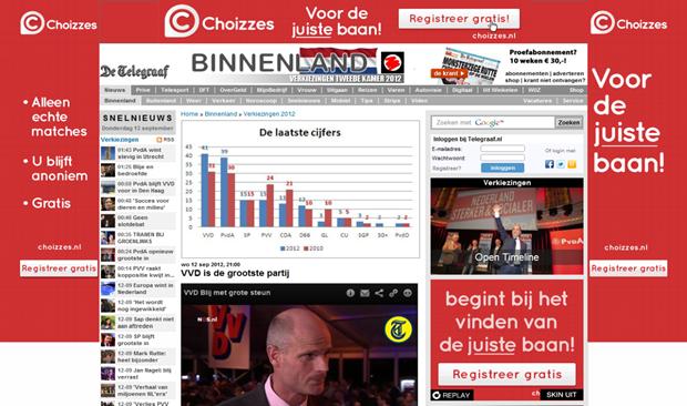 Telegraaf | Homepage
