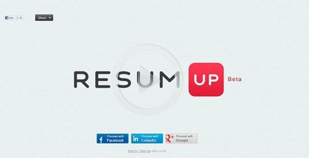 ResumUP | Homepage