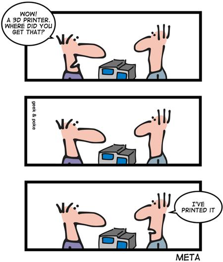 Geek & Poke: Meta