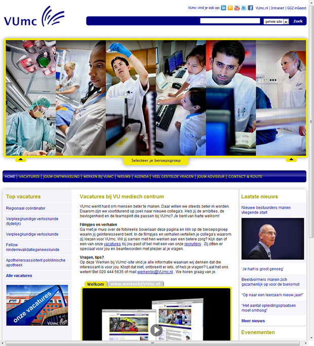VUmc   Homepage