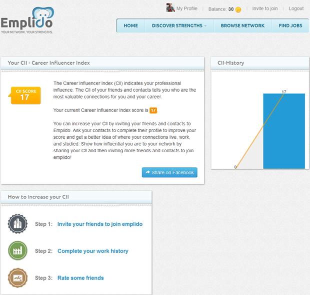 Emplido | Career Influence Index